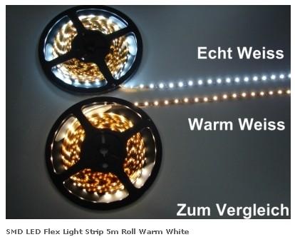 Светодиодная лента Bioledex с холодным светом 25Вт 5 метров