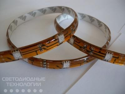 Светодиодная лента МТК-300RGBF5050-12