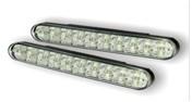 Светодиодные лампы для автомобилей DRL-4 Корпус: пластик Мощность: 30 LED/ 0,2W Размер, мм: 190х26