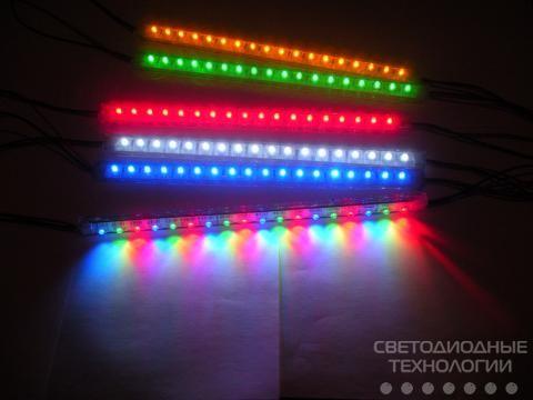 Светодиодные линейки MTK-300FRGB18-12 2 провода