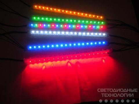 Светодиодные линейки MTK-300FRGB18-12