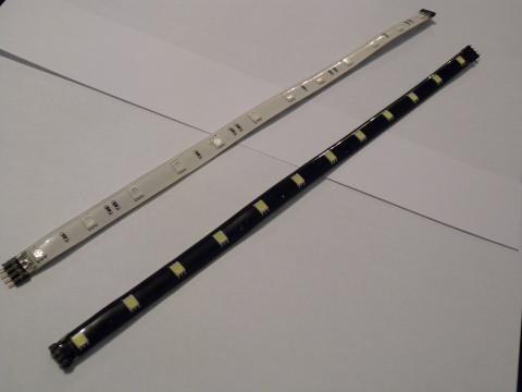 Светодиодные линейки MTK2-3528URC-12(blac k)