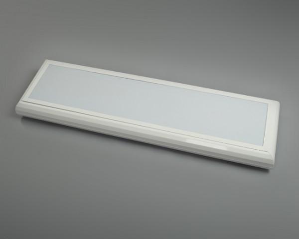 Светодиодный офисный светильник, накладной, 19Вт, аналог ЛПО2*36, 2520Лм, 1240*340мм Гарантия -3года