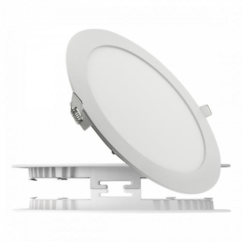 Светодиодный светильник 18W круг -230мм IP защита IP 44 Световой поток 1600 Лм Напряжение питания 110-240В
