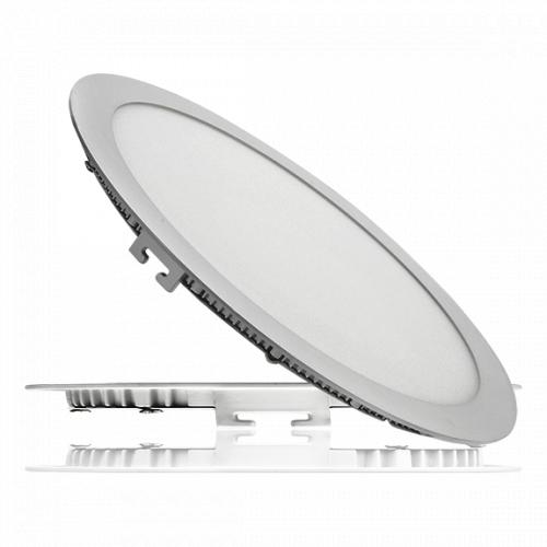Светодиодный светильник 24W круг - 300мм IP защита -IP 44 Световой поток -1920 Лм Напряжение питания 110-240В