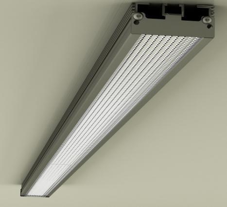Светодиодный светильник промышленный LED 45I-1,5 Р=45Вт, 4608Лм, 1500*50*22мм, гарантия-3года.