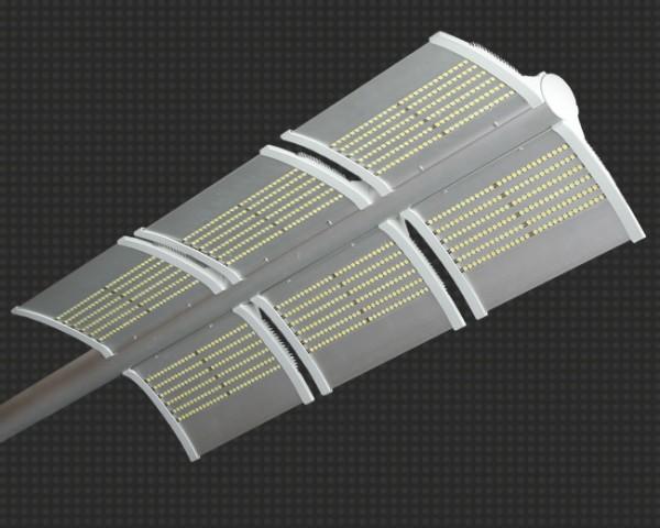 Светодиодный светильник уличный 185Вт, аналог ДРЛ 700, 25200Лм, крепление на консоль или кронштейн