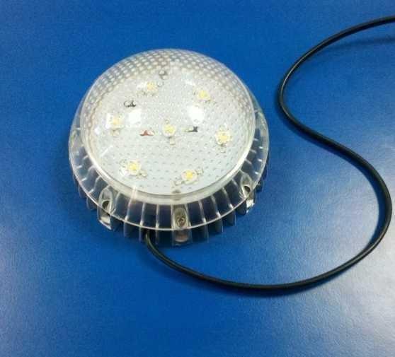 Светодиодный светильник ЖКХ 7w Встроенные датчики: освещенности и звуковой