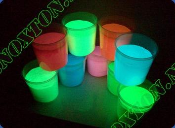 Светящаяся краска для интерьера Eco. Расход светящейся краски: до 14 м2 /л. в 1 слой