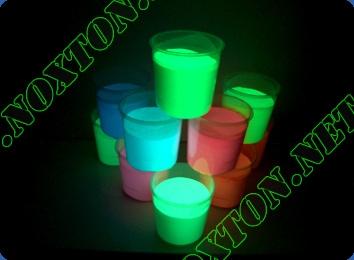 Светящаяся краска для ОРАКАЛА и самоклеющейся пленки Silk Screen. Расход светящейся краски: до 10 м2 /л.