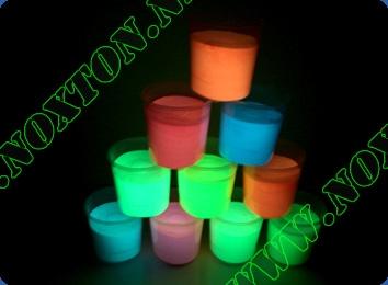 Светящаяся краска для внутренних работ Расход светящейся краски: до 12 м2 /л. в 1 слой