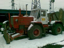 Т-150 тягач (бара)
