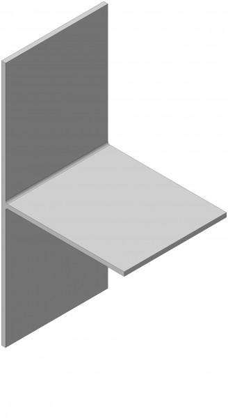 Т-образный профиль усиленный (120х60х2)