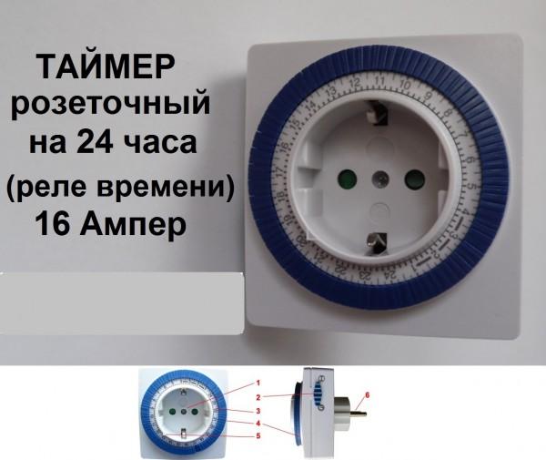 Таймер - розетка Feron TM32 суточный реле времени http://fotki. yandex. ru/users/uds12r/view /659972/