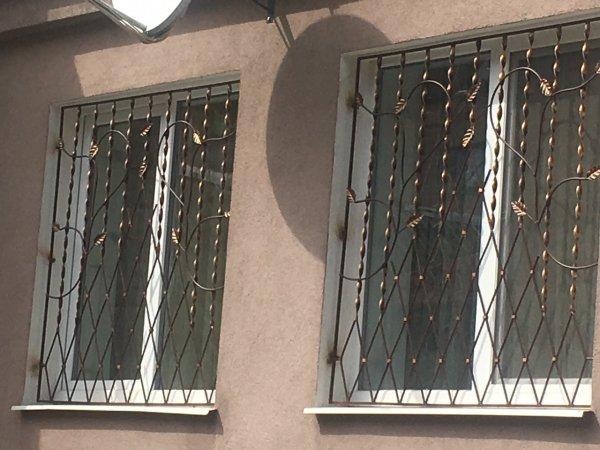 Фото 6 Решетки на окна кованые .грати на вікна. ограждения. 336330