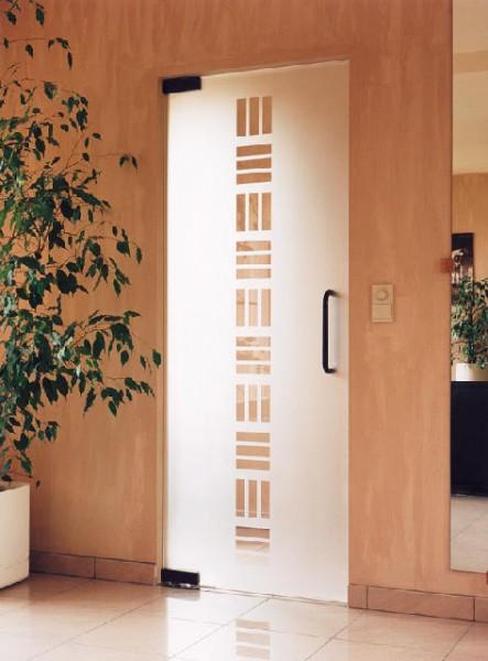 Цельностекляные интерьерные двери