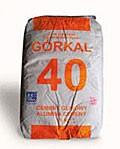 Цемент GORKAL 40 предназначенные для эксплуатации: нагревательных установках, работающих при t 1300 °С;