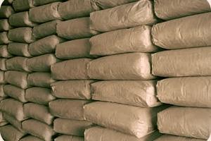 Цемент М-500 (ПЦ Д20) в таре по 25 кг. За мешок цена 26,75 грн.