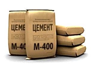 Цемент М400 и М500 в мешках по 25 кг.