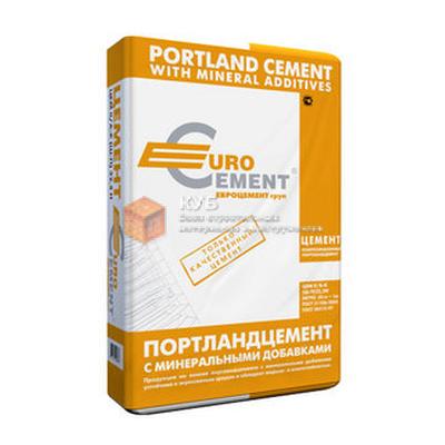 Цемент ПЦ 2/Б-Ш марка 400 (25 кг) заводская упаковка