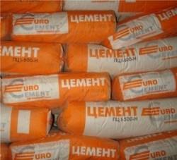 Цемент ПЦ М-500 ДО без добавок упаковка по 25 кг
