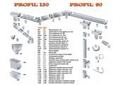 Цены на водосточную систему PROFiL (система130/100) Гарантия 10лет!