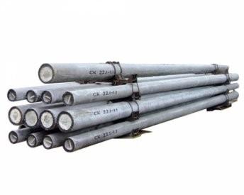 Центрифугированная опора СК 26.1-6.1 Маса 7т, длина 26м