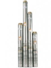 Центробежный насос для скважин и колодцев Насосы+ 75QJD115-0.37 пульт