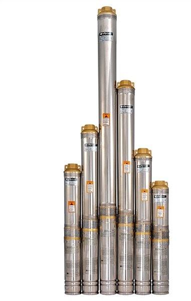 Центробежный насос для скважин и колодцев Sprut 100QJ 210-0.75 нерж. пульт