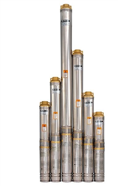 Центробежный насос для скважин и колодцев Sprut 100QJ 220-1.5 нерж. пульт