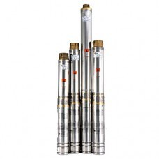 Центробежный насос для скважин и колодцев Sprut 90QJD 118-0.75 нерж. пульт