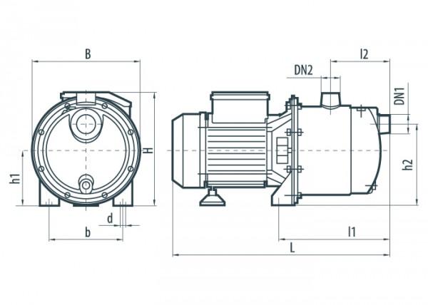 Центробежный насос Sprut HMP5