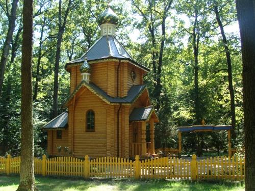 Церковный храм.
