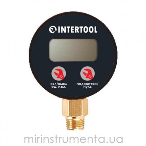 Цифровой манометр INTERTOOL PT-0501