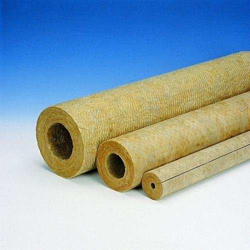 Цилиндры PAROC Pipe Section Цилиндры из каменной ваты. Подходят для всех стандартных размеров труб.