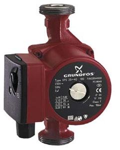 Циркуляционные насосы GRUNDFOS UPS, UP серии 100 с мокрым ротором. UP серии 100 25-40 180