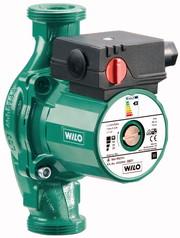 Циркуляционные насосы WILO серии RS с мокрым ротором и резьбовым соединением.