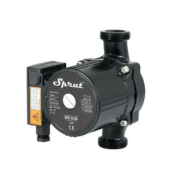 Циркуляционный насос для отопления Sprut GPD 25/4S-180 гайка