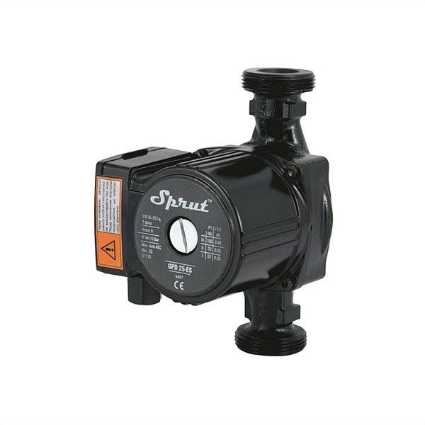 Циркуляционный насос для отопления Sprut GPD 25/6S-180 гайка