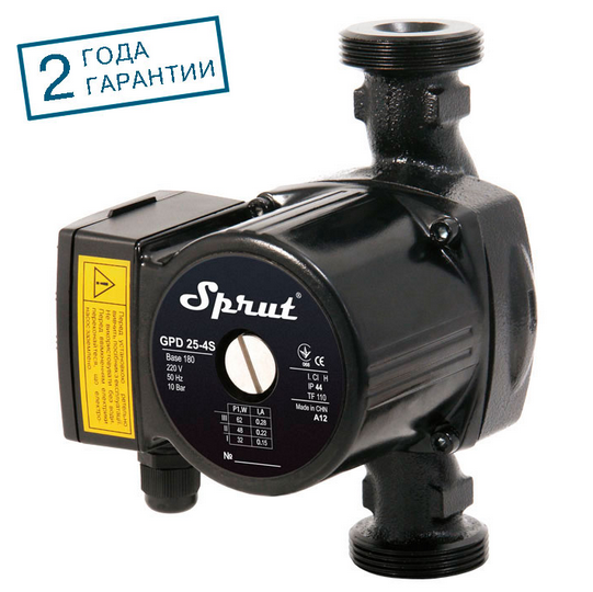 Циркуляционный насос SPRUT GPD 25/8S-180 гайка
