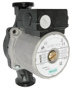 Циркуляционный насос Wilo Star RS 25/60 180 (серый)