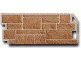 Цокольная панель Fineber Камень Серо-зеленый 1137*470 мм. Сайдинг