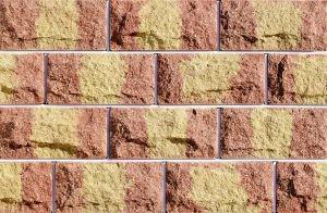 Цокольная плитка Фагот Бордово-желто-бордов ая