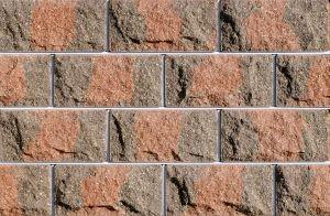 Цокольная плитка Фагот Коричнево-красно-кор ичневая
