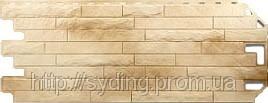 Цокольный сайдинг Альта профиль, фасадная панель. Кирпич антик Афины