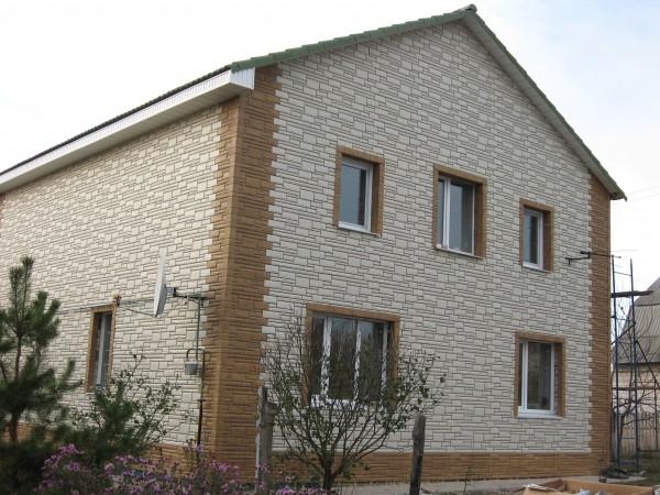 Цокольный сайдинг, фасадные панели