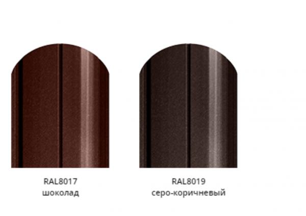 Фото 6 Забор из металлического штакетника - стильное современное ограждение 344179