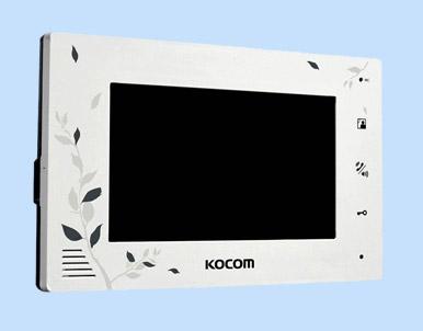 Цветной видеодомофон Kocom KCV-A374 LE White