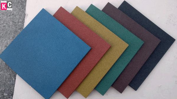 Цветовая гамма резиновой плитки