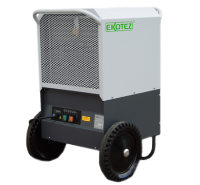 Ekotez TE90 - мобильный осушитель воздуха. Производительность 90л/сут. Чехия